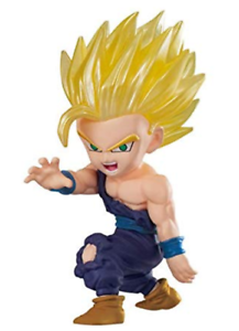 BANDAI DRAGON BALL Z Super ADVERGE MOTION Mini Figure SS2 Son Gohan NEW Japan