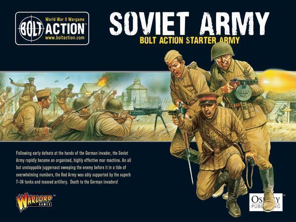 BOLT ACTION Soviet Starter Army 402614001