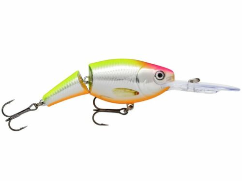 Rapala Jointed Shad Rap VMC hooks 13g suspending lure 7cm