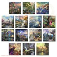 Thomas Kinkade - Disney Dreams Collection / Set Of 14 Gallery Wrapped Canvas