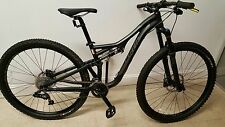 "Specialized Stumpjumper Comp 2015 29"" Mountain Bike Bicycle Black Small New"
