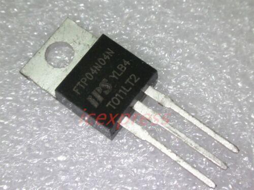 10PCS TO-220 FTP04N04N