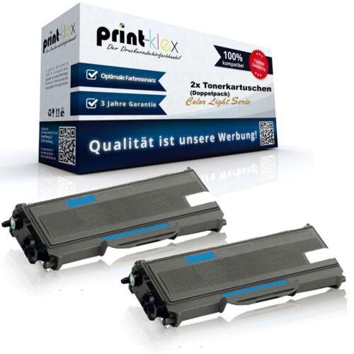 2x XL COMPATIBILE CARTUCCE TONER PER BROTHER hll-2360-dw doppio color light