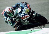 Loris BAZ SIGNED 12x8 Autograph Photo 2016 Ducati MOTOGP Rider AFTAL COA