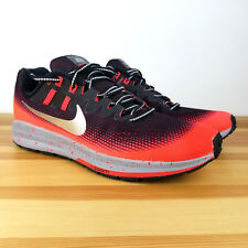 NIKE AIR ZOOM STRUCTURE 20 SHIELD SIZE 7 BLACK  (849581-006)