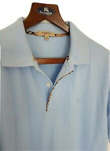 Mens-chic-LONDON-by-BURBERRY-short-sleeve-polo-shirt-size-medium-large-RRP-165