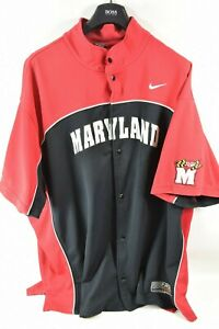 Nike-Elite-Univ-Maryland-NCAA-Basketball-Warmup-Jersey-Shirt-Jacket-Men-039-s-4XL