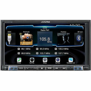 Alpine Double Din Android Auto Apple Carplay Bluetooth Car Stereo
