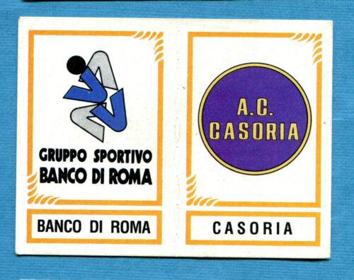 CALCIATORI PANINI 1982-83 Figurina-Sticker n.593-BANCO ROMA#CASORIA-SCUDETTO-New