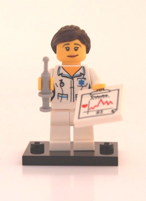NEW LEGO MINIFIGURE SERIES 1 8683 - Nurse