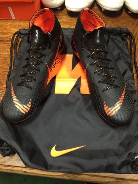 d0fb1ea27 Nike Mercurial Superfly 6 VI Elite FG Black Soccer Cleats Ah7365081 Sz 9