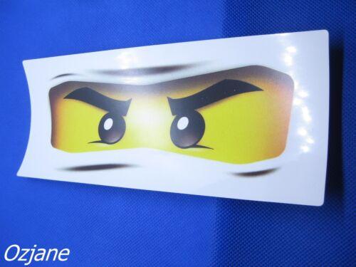 LEGO NINJAGO EYES STICKER BRAND NEW SIZE 20 X 8.5CM