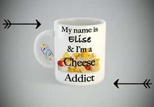 Sweet dreams are made of cheese funny Mug A019 coffee cup novelty food parody