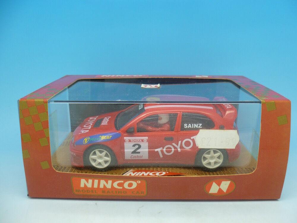 Ninco 50170 Toyota Cgoldlla, Sainz, mint unused boxed