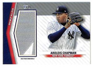 2020 Topps Update Aroldis Chapman All Star Game 20/25 jumbo patch card Yankees
