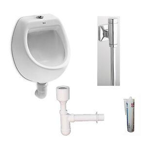 urinal set mini roca pissoir zulauf von oben 7353145 ebay. Black Bedroom Furniture Sets. Home Design Ideas
