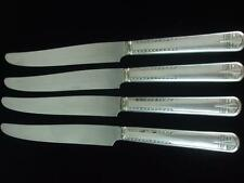Vintage Silverplate 4 Dinner Knives Simeon L George H Rogers Company A1X Oneida