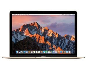 """Apple Macbook 12"""" Ordinateur Portable, 256 Go-mnyk 2b/a - (juin, 2017, Gold)-afficher Le Titre D'origine Bonne RéPutation Sur Le Monde"""