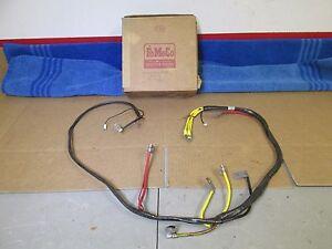 1956 ford passenger alternator system wiring harness b6a 14305 f nos rh ebay com