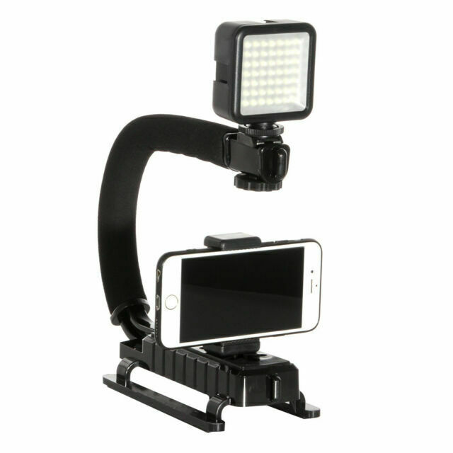 Pro Video Stabilizing Handle Grip for Samsung ST93 Vertical Shoe Mount Stabilizer Handle
