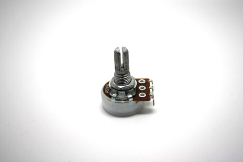 ALPHA A500K 500K LOGARITHMIC TAPER 16mm WITH SOLDER LUGS ROTARY POTENTIOMETER