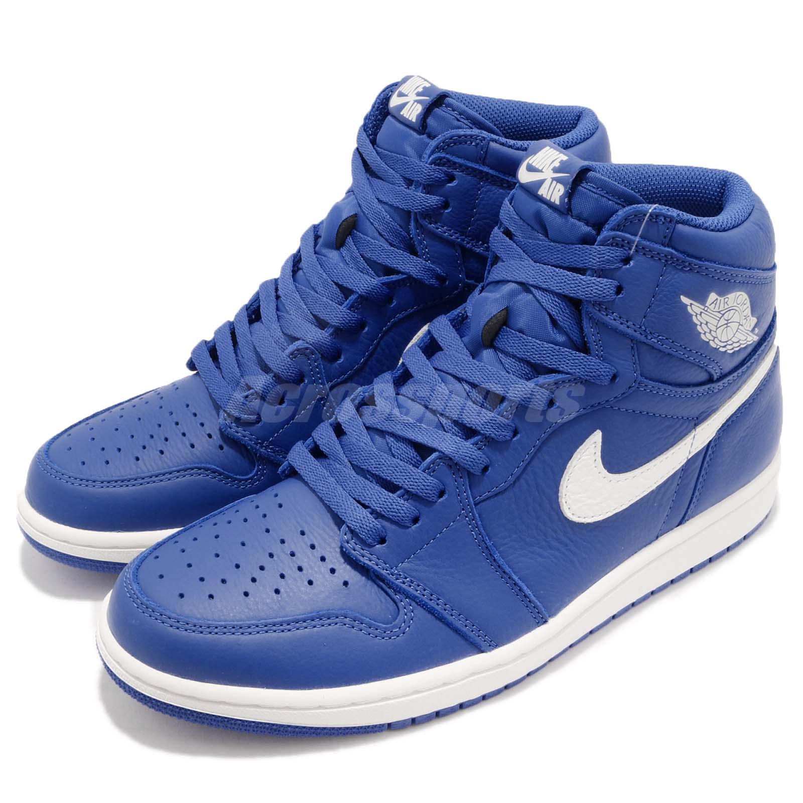 promo code 1c171 8601f Nike Air Air Air Jordan 1 Retro High OG I AJ1 Hyper Royal Sail Men Shoes