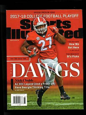 December 25 2017 Baker Mayfield Kelly Bryant Nick Chubb CFP Sports Illustrated