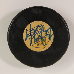 Wayne Gretzky signed autographed hockey puck! AMCo Authenticated!