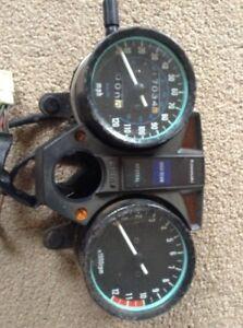 Kawasaki-Z250-KZ-250-Speedo-Clocks-Showing-17034-Miles