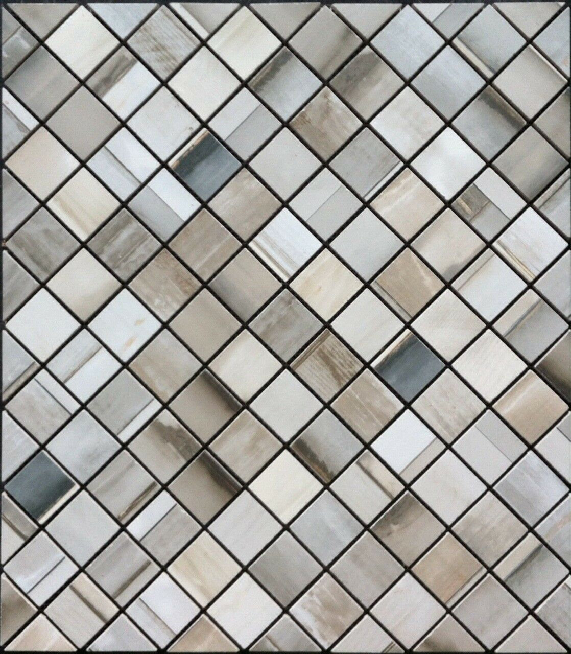 21 7 8  X 19 1 4  Tile Medallion Mosaic Inlay - Can be used in a floor or wall