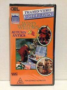 WIND-IN-THE-WILLOWS-AUTUMN-ANTICS-RARE-THAMES-VHS-VIDEO