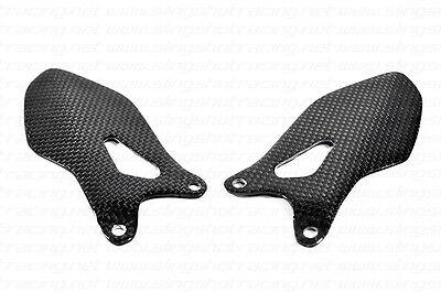 Ducati Monster 1100 EVO/Diesel/20th Anniversary Heel Plates Guard Carbon Fiber