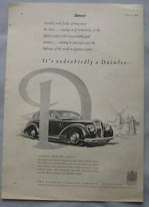 1950-Daimler-Consort-2-5-litre-Original-advert-No-1