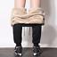 Drawstring-Sweatpant-Men-Trouser-Fashion-Heavyweight-Male-Winter-Warm-Plush-Pant thumbnail 2