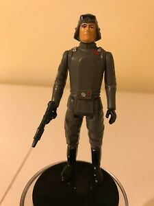VINTAGE-STAR-WARS-1980-AT-AT-COMMANDER-GENERAL-VEERS-amp-REPRO-BESPIN-BLASTER-DH17