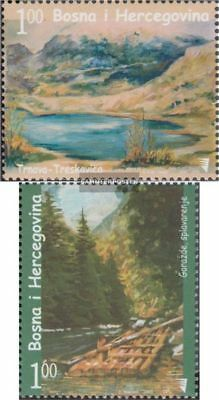 kompl.ausg. Bosnien-herzegowina 426-427 Postfrisch 2006 Gemälde