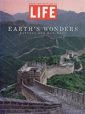 "LIFE ""Earth's Wonders Natural and Man-Made"" Photography 1994 PBack VG Ships Free"