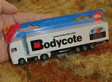 Siku Super Man camiones maleta remolcarse nº 1627 Bodycote OVP sin abrir rareza bien