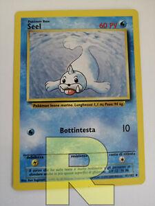 Seel ® Set Base 41/102 ® Non Comune ® Pokemon ® Italiano EX