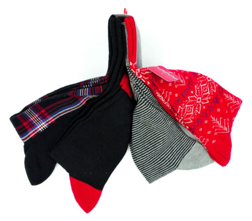 New Tommy Hilfiger Mens Variety Color//Design Holiday Dress Socks Size 7-12