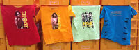 Distressed T-Shirt Set of 4 Josie & Pussycats Original Movie Prop Lot-FREE S&H