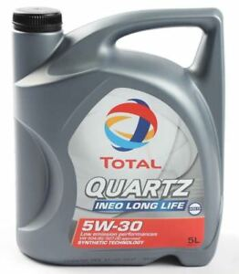 Total-Motoroel-Quartz-Ineo-Long-Life-3-5W30-5-Liter-VW-50400-50700-ACEA-C3-BMW-LL