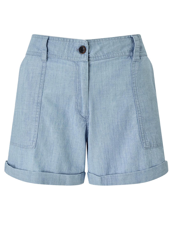 Harris Wilson Womens Envol Shorts, Pale bluee was