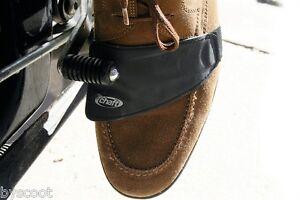 Détails sur Protège chaussure sélecteur vitesse CHAFT moto route basket protection bandeau