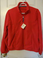 Bob Timberlake Signature Collection Large Red Half-zip Lined Golf Jacket $59
