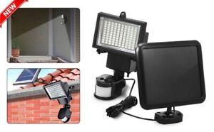 100 Del Énergie Solaire Sécurité Lumière Pir & Dusk Dawn Capteur Extérieur Projecteur-afficher Le Titre D'origine Riche Et Magnifique