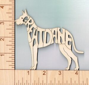Saint Bernard Dog laser cut and engraved wood Magnet Great Gift Idea