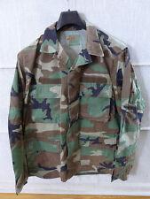 #BDUJ12 - US BDU woodland Feldjacke R/S Tarnjacke coat hot weather MEDIUM Ranger