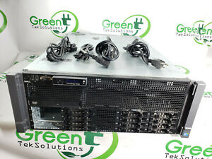 "Dell PowerEdge R910 4-Bay 2.5"" 4x Xeon E7-4830 2.13GHz 16GB iDRAC 6 PERC H700"