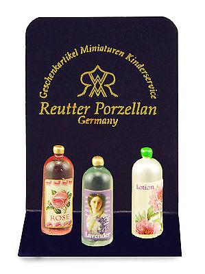 Reutter 12th escala de productos de belleza Conjunto de 3